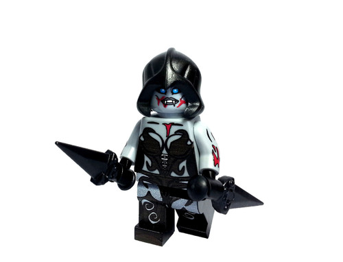 Custom LEGO® Minifigure - Female Vampire