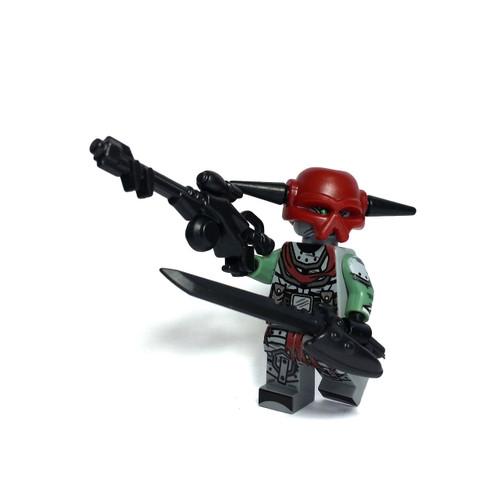 Custom LEGO® Minifigure - Scavenger