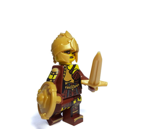 Custom LEGO® Minifigure - Amazon Warrior