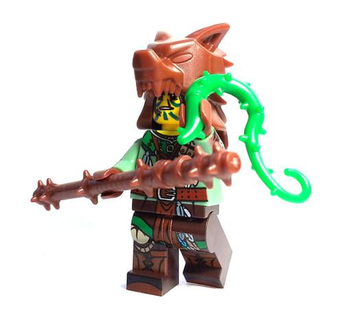 Custom LEGO® Minifigure - Druid