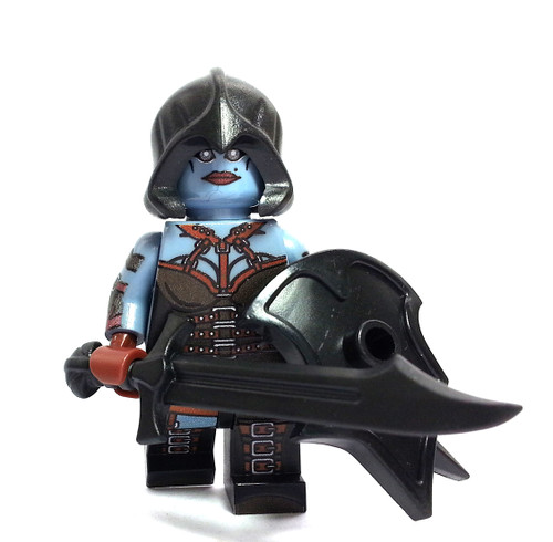Custom LEGO® Minifigure - Dark Elf