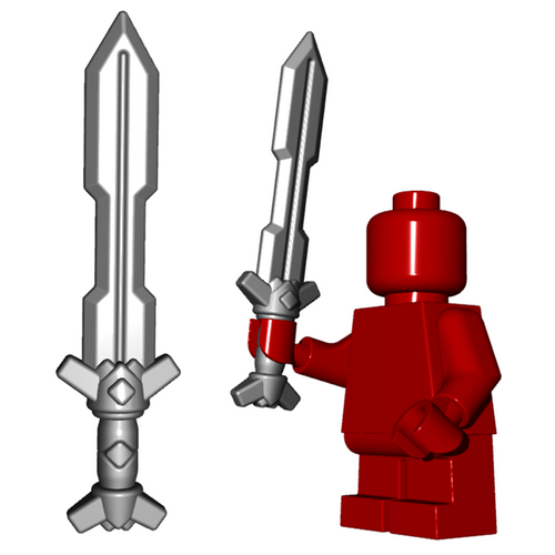 Custom LEGO® Accessory - Dwarf Sword