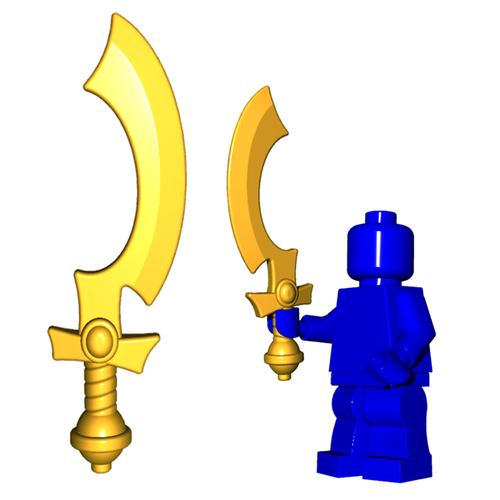 Custom LEGO® Weapon - Khopesh