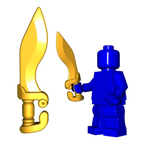 Minifigure Sword - Falcata
