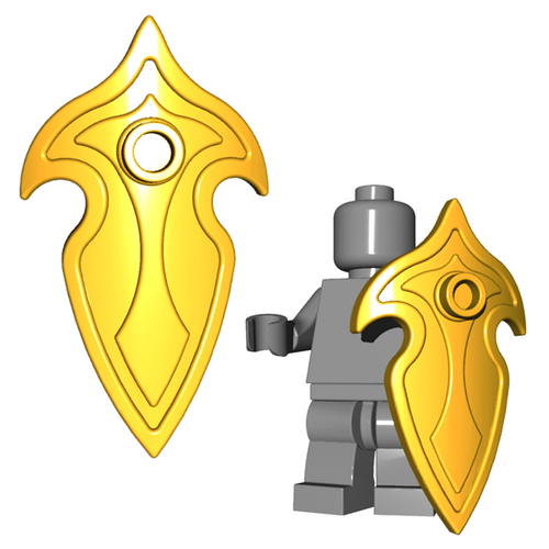 Minifigure Shield - Elf Shield