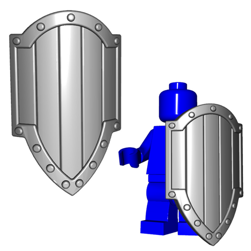 Minifigure Shield - Paladin Shield