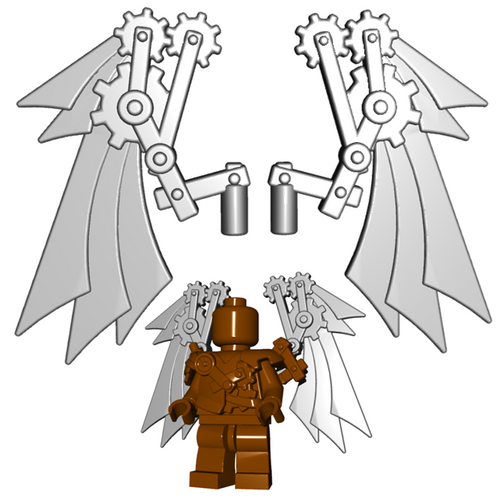Minifigure Accessory - Steampunk Wings