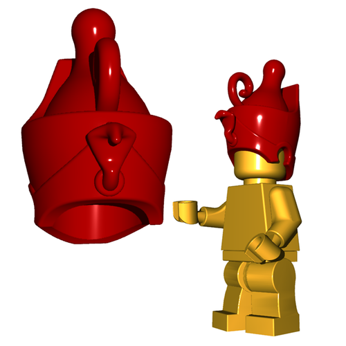Custom Lego Accessory - Pharaoh Crown