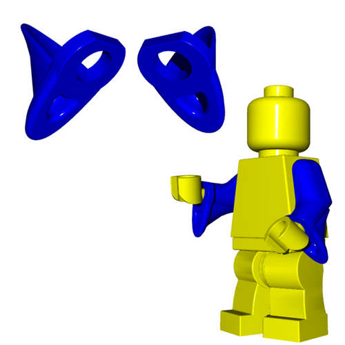 Minifigure Accessory - Wizard Sleeves