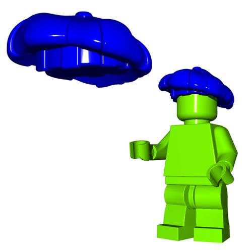 Custom LEGO® Accessory -Bard Hat