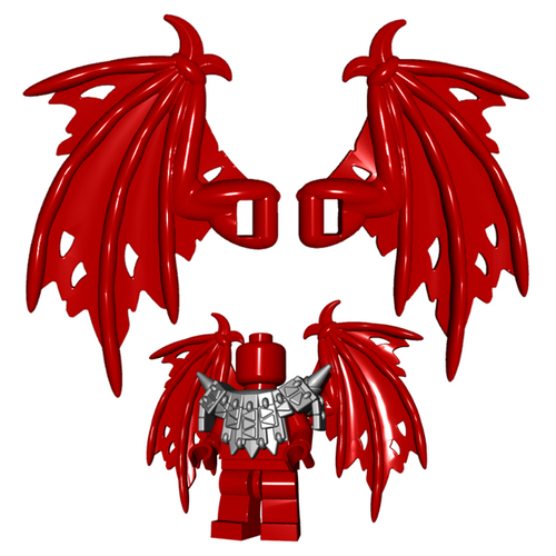 Custom LEGO® Accessory - Tattered Wings