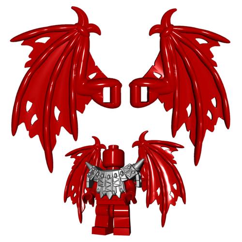 Custom LEGO® Accessory - Tattered Wings