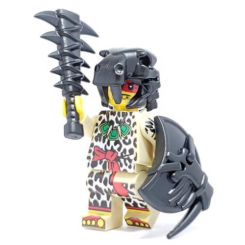 Custom LEGO® Minifigure - Jaguar Warrior