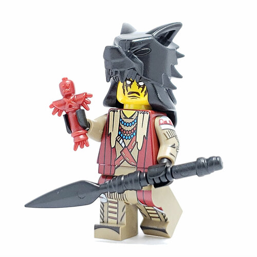 Custom LEGO® Minifigure - Indian Shaman