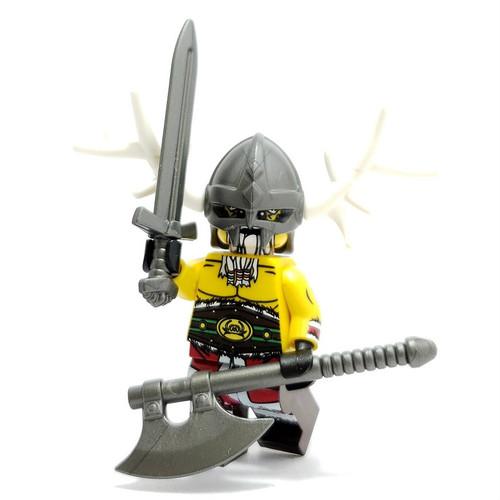 Custom LEGO® Minifigure - Viking Santa