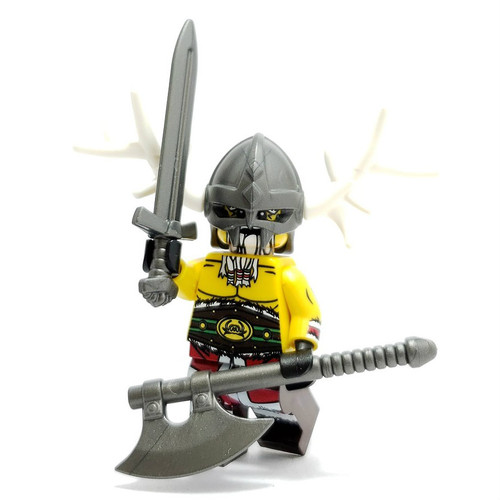 Custom LEGO® Minifigure - Viking Santa