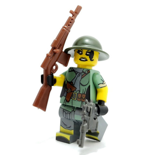 Custom LEGO® Minifigure - Viet Cong Sniper