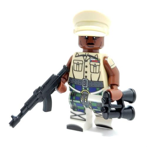 Custom LEGO® Minifigure - Idi Amin