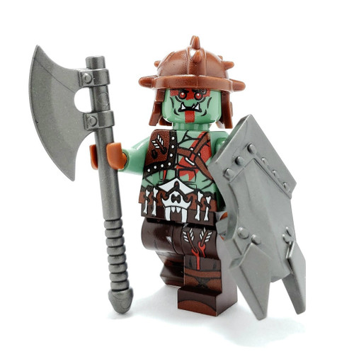 Custom LEGO® Minifigure - Orc Warrior