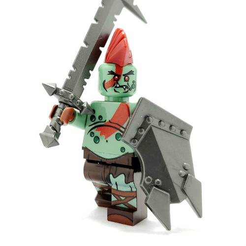Custom LEGO® Minifigure - Orc Warlord