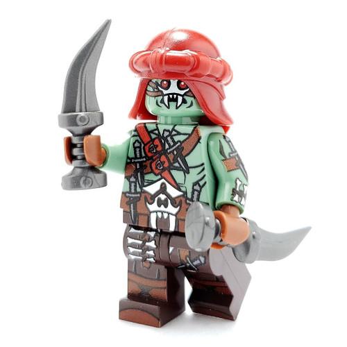 Custom LEGO® Minifigure - Orc Assassin