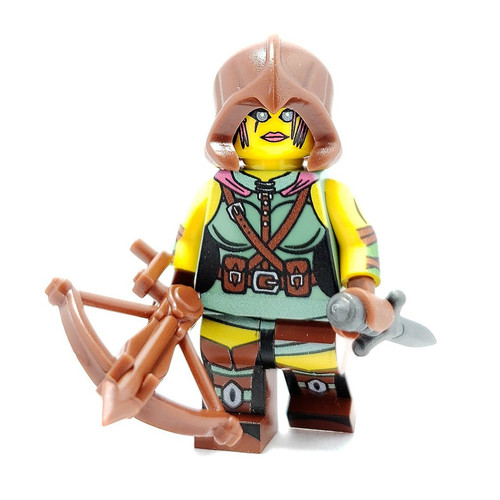 Custom LEGO® Minifigure - Adventurer