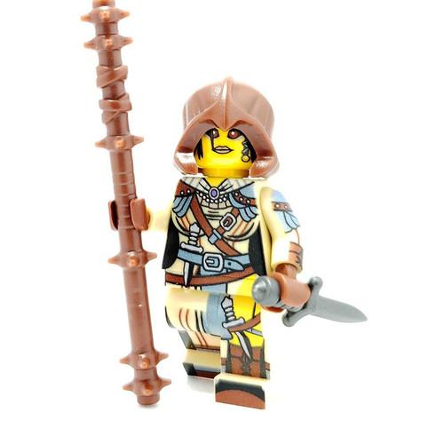 Custom LEGO® Minifigure - Sand Mage