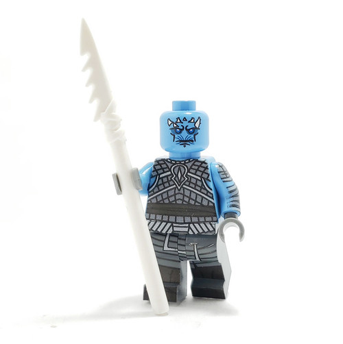 Custom LEGO® Minifigure - Ice King