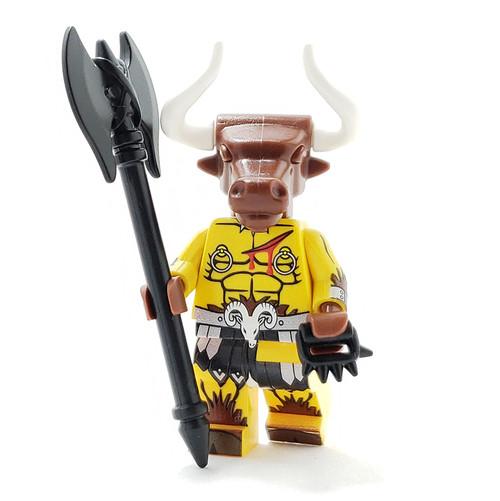 Custom LEGO® Minifigure - Minotaur