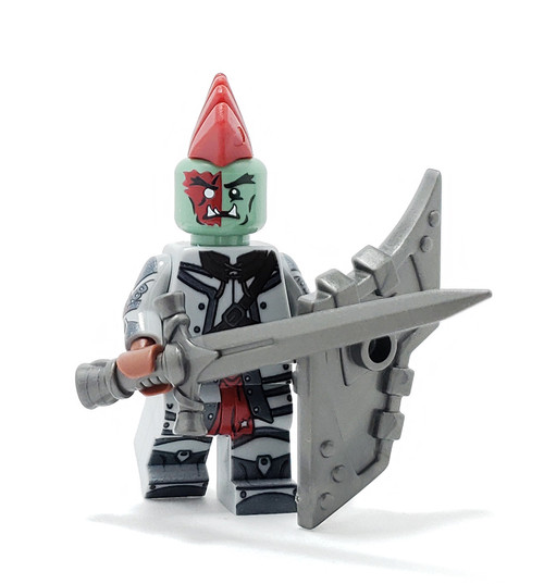 Custom LEGO® Minifigure - Half Orc Fighter