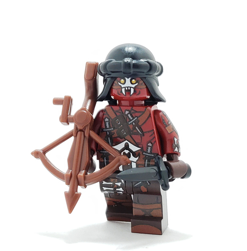 Custom LEGO® Minifigure - Orc Assassin