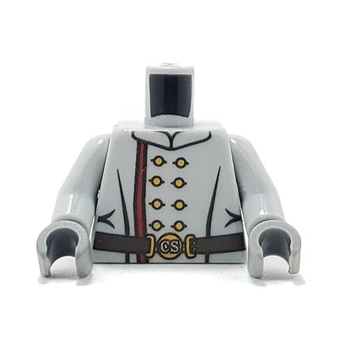 Minifigure Custom Torso - Confederate Soldier
