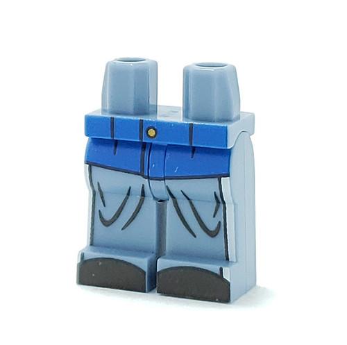 Custom Printed Minifigure Legs - Union Soldier