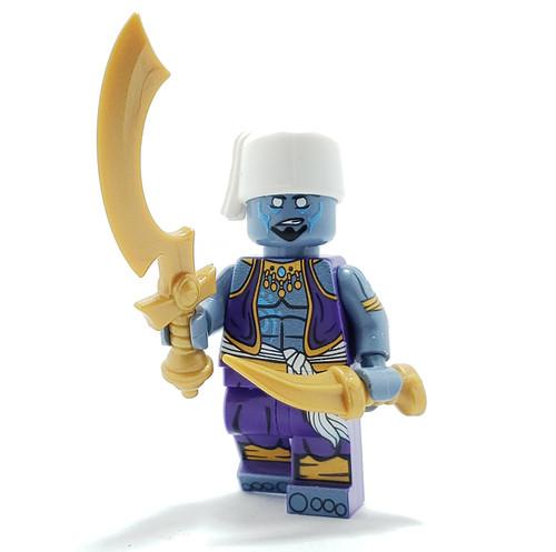 Custom LEGO® Minifigure - Genie