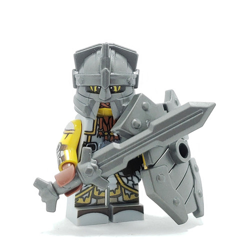 Custom LEGO® Minifigure - Dwarf Fighter