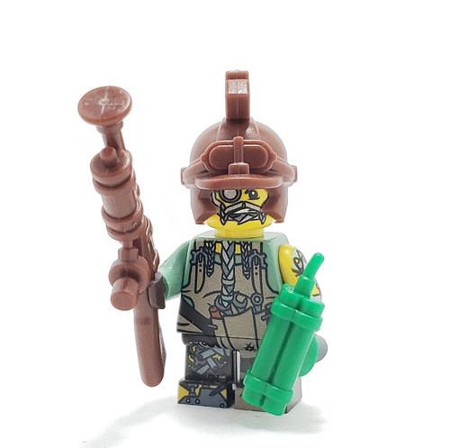 Custom LEGO® Minifigure - Dwarven Engineer