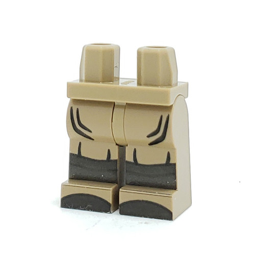 Custom Printed Minifigure Legs - Afrika Korps General Legs