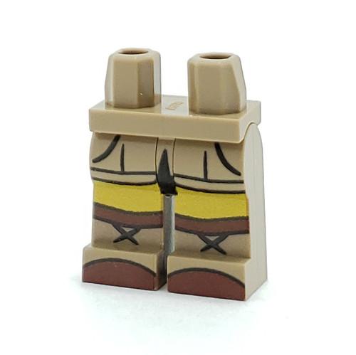 Custom Printed Minifigure Legs - Afrika Korps Legs