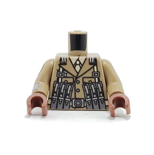 Custom Printed Minifigure Torso - Afrika Korps Torso