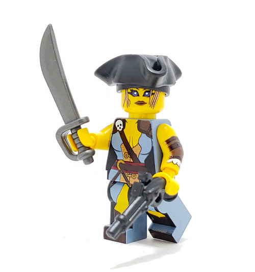 Custom LEGO® Minifigure - Pirate Wench