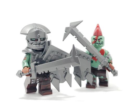 Custom Lego Minifigure Starter Pack - Orc Pack