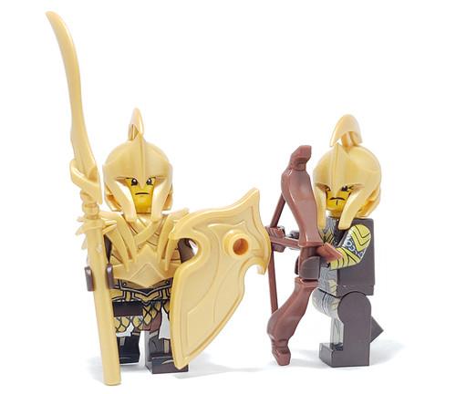 Custom Lego Minifigure Starter Pack - Elf Pack