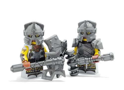 Custom Lego Minifigure Starter Pack - Dwarf Pack