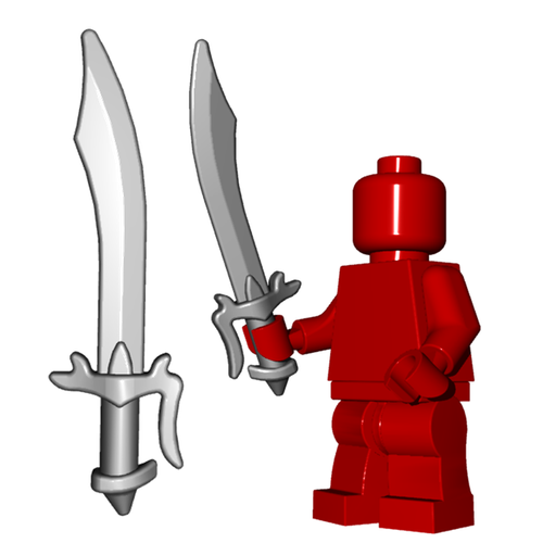 Minifigure Weapon - Scimitar