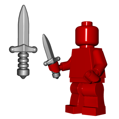Minifigure Weapon - Assassin Dagger