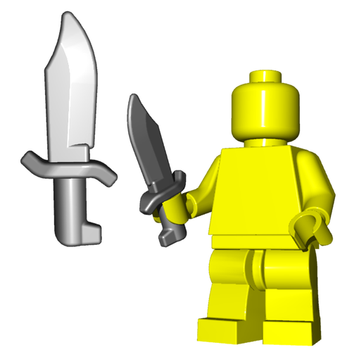 Minifigure Weapon - Bowie Knife
