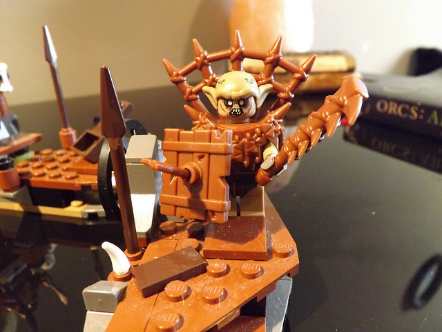 Custom LEGO Minifigure of the Week - Goblin Foot Soldier ... Horned Viking Helmet Goblin Rocket Helmet