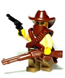 Wild West Custom Lego Guns