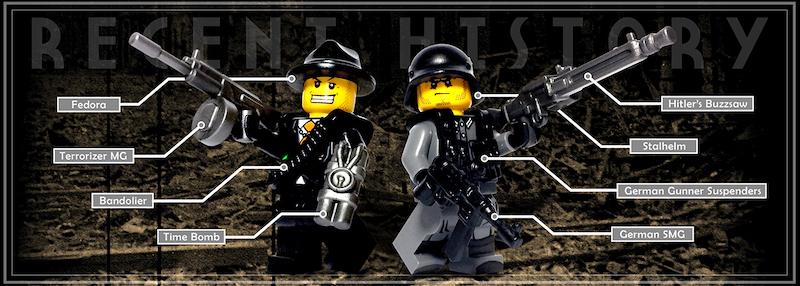 Recent History Custom Lego Guns