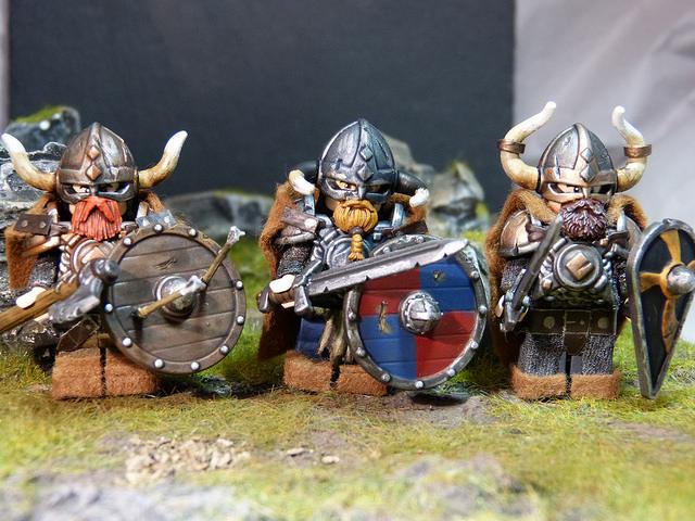 Custom Lego Minifigure of the Week - Viking Horde by ... Horned Viking Helmet Goblin Rocket Helmet